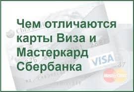 Чем отличается «МастерКарт» от «Визы» в «Сбербанке России»