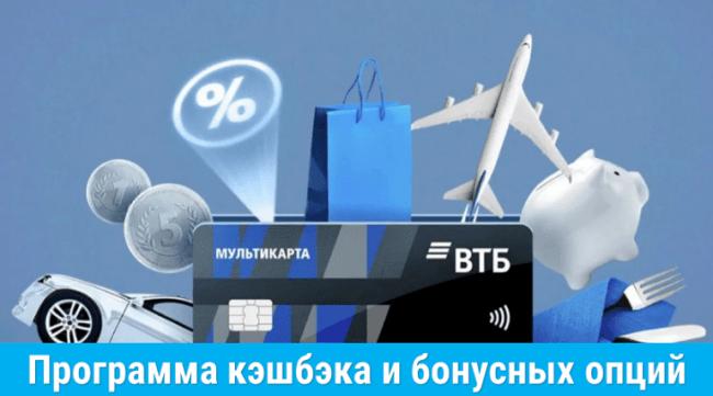 Опция заемщик ВТБ калькулятор